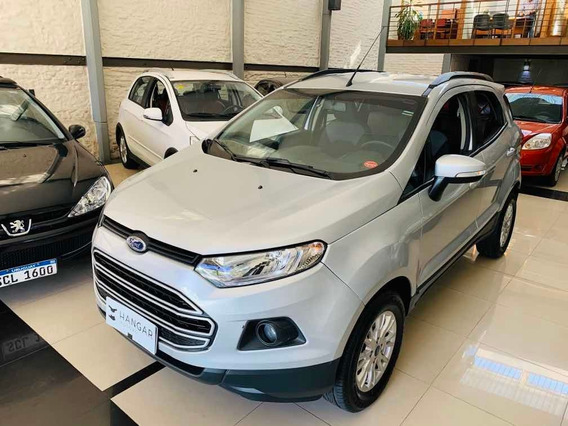 Ford Ecosport 1.6 Se 2017 100% Financiado Hangar Motors