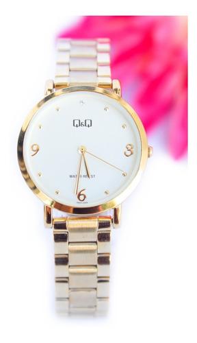Reloj Q&q Qyq Original Acero Dama Mujer+ Envío Gratis
