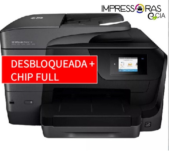 Multifuncional Jato De Tinta Color Officejet Pro 8710 Hp