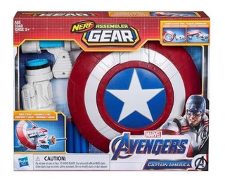 Nerf Assembler Escudo Capitan America Avengers Endgame