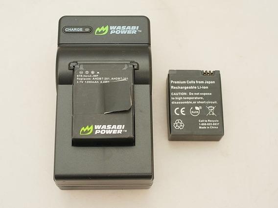 Carregador & 2 Baterias Gopro Hero 3 & 3+