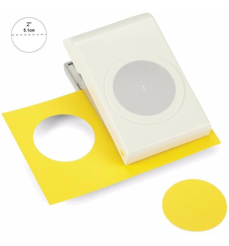 Imagen 1 de 7 de Scrapbook Perforadora Circulo Liso 2 - 5.1cm Ek Punch Papel