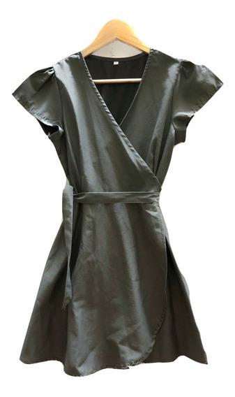 Vestidos Corto Mujer Cruzado - Vestido Corto