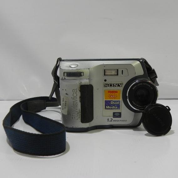 Câmera Sony Fd100 Fd Mavica 4x 1.2mp - Usado Com Defeito