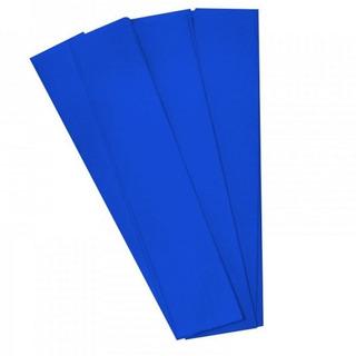 Papel De Crepe 50cm X 2mts Azul X 10 Hojas.