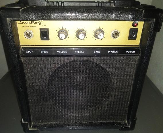 Amplificador Guitarra Soundking 15w Unico C/canal Distorsion