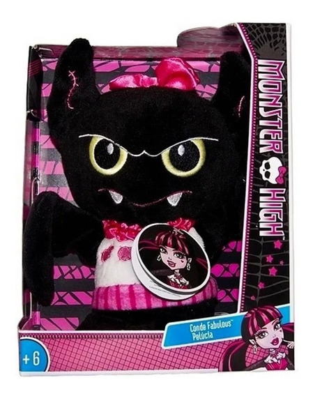 Pelúcia Pet Conde Fabulous Morcego Monster High Original