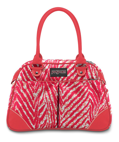 Cartera jansport medium duffel animal print