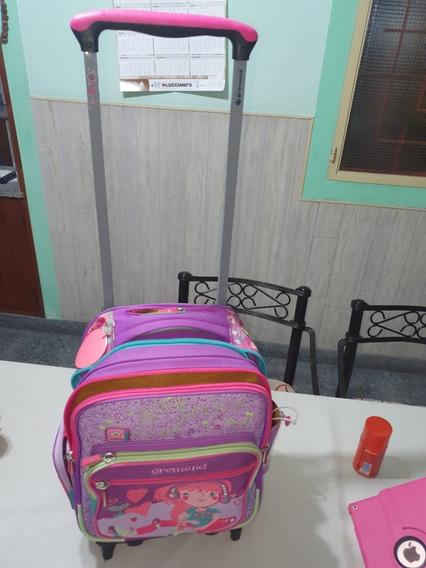 Mochila Con Carro Para Nena Gremond Escolar Original*