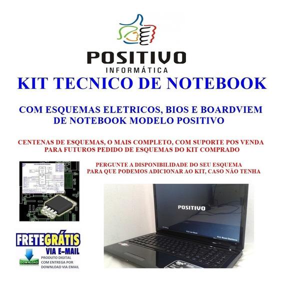 Kit Notebook Positivo ,com Esquema Eletrico, Bios, Boardview