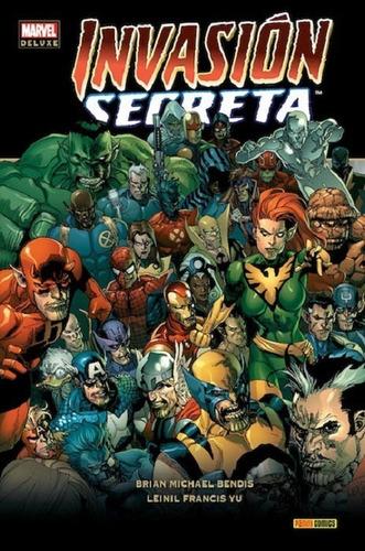 Cómic, Marvel Deluxe Invasión Secreta / Tapa Dura