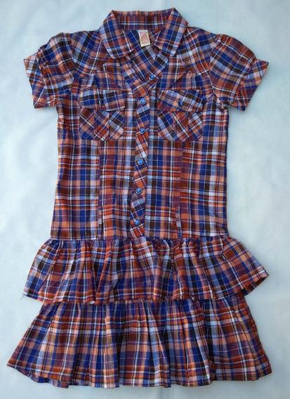 Vestido Chillipop De Niña Talle 7-8 Importado