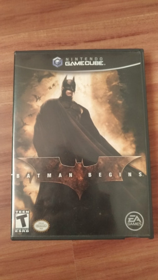 Batman Begins (gamecube/wii) - Original E Americano
