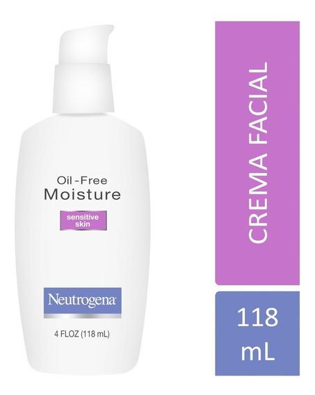 Crema Hidratante Neutrogena Oil Free Piel Sensible