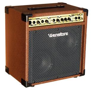 Amplificador Guitarra Wenstone Kba-328 Acustica Teclado Voz