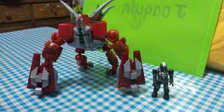 Halo Mega Construx Goliath Banished Halo Wars Forge Master