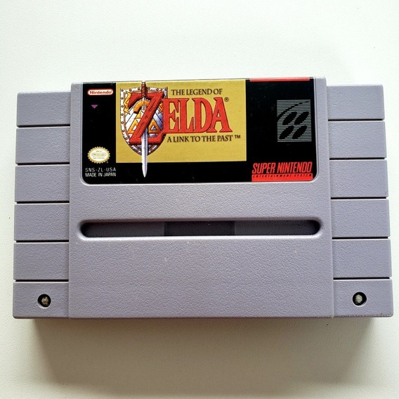 The Legend Of Zelda A Link To The Past Original Snes