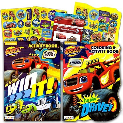 Blaze And The Monster Machines Coloring Book Super Set - 2 L
