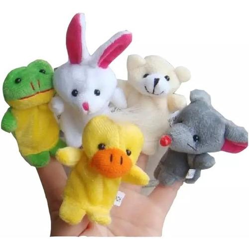 Imagen 1 de 7 de Títeres Dedo X 5 Unds Para Bebes Niños Juguetes Marioneta