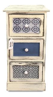 Mueble Vintage Estampado. Nuevo/ Sanfex - S0042