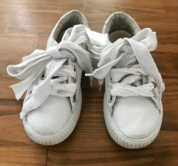 Zapatillas 47 Street Blancas Talle 35