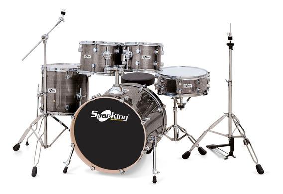 Bateria Profissional Chrome Light Sparkle Profire Drums