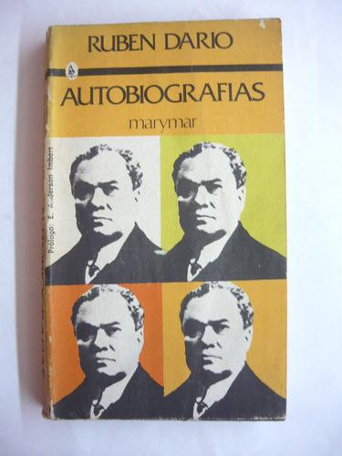 Autobiografía, Ruben Dario, Ed. Marymar