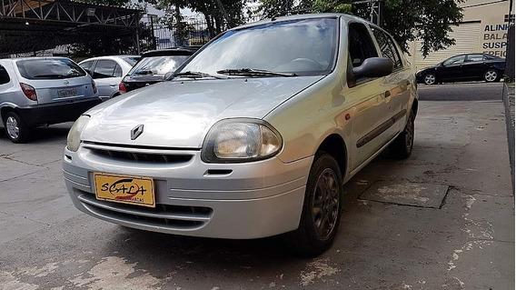 Clio Rn 1.0 No Estado Sem Garantia
