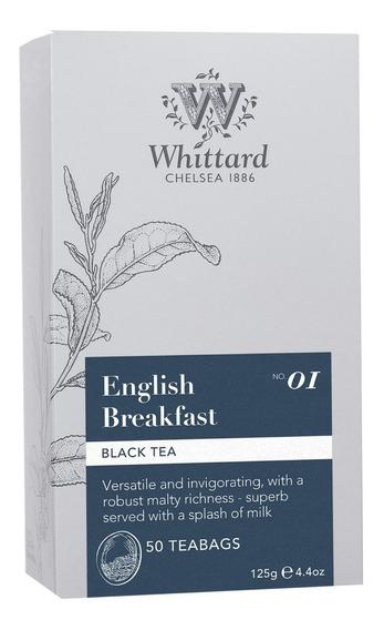 Té Negro English Breakfast Whittard 50 Teabags
