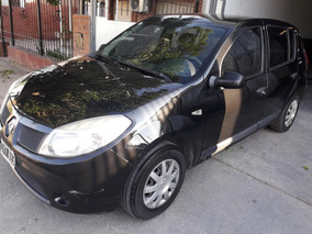 Renault Sandero 1.6 Confort Full 2010 Entrega $75000 Ycuotas