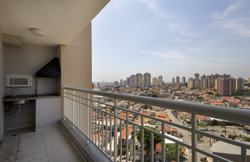 Apartamento Tatuapé  - Terraço Gourmet - 73m²