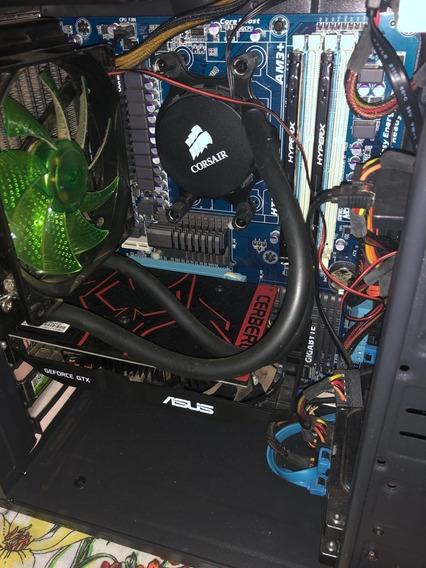 Kit Amd Fx-8350+watercooler+16gb+gtx 1050ti+ga-970a-ud3