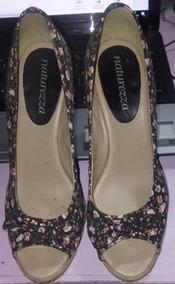 71eb53778 Leader Calcado Mulher Sapato Feminino Anabela - Sapatos, Usado no ...