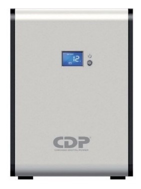 Imagen 1 de 4 de Cdp R-smart 1210 Ups Regulador 1200va/720w 10 Salidas Lcd
