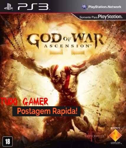 God Of War: Ascension - Ps3 Mídia Física