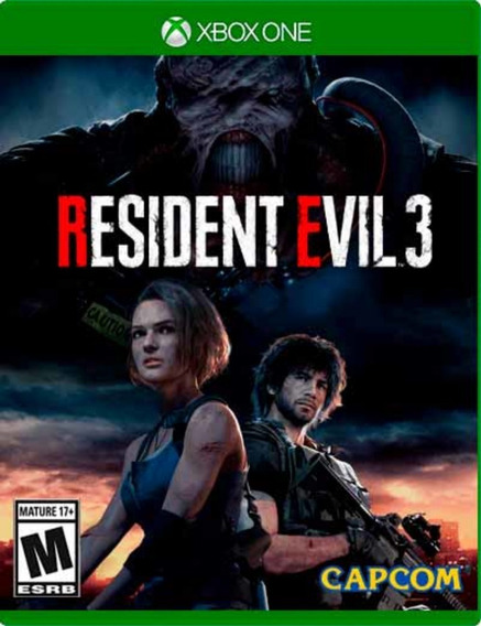 Resident Evil 3 - Xbox One Digital Online - Português Br