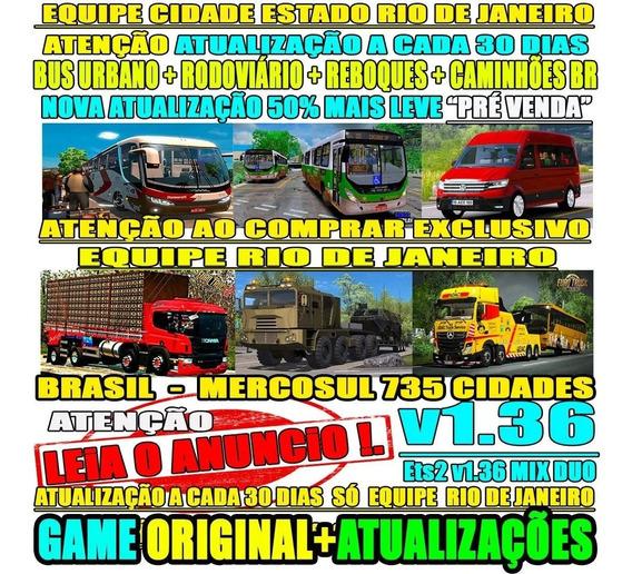 Euro Truck Simulator 2 Brasil Estradas Perigosas V1.36