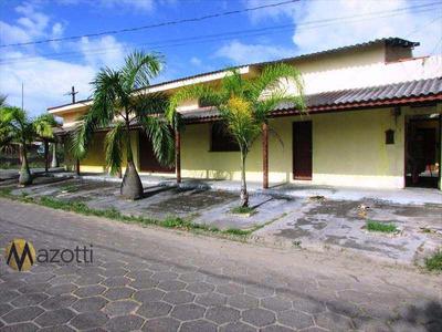 Salão, Jardim Regina, Itanhaém - R$ 490.000,00, 360m² - Codigo: 494 - V494
