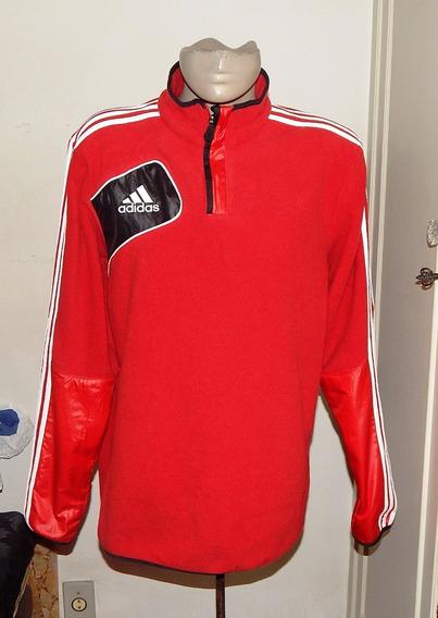 Casaco adidas Fleece Vermelho E Preto Tam: M
