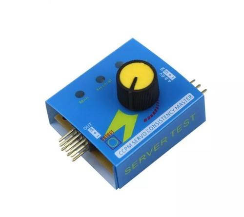 Control De Velocidad Servo Tester Ccmp 3 Modos Ecs