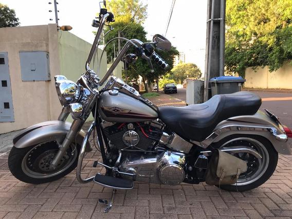 Harley Davidson Fat Boy 2007 Com 14 Mil Em Acessórios - 2007