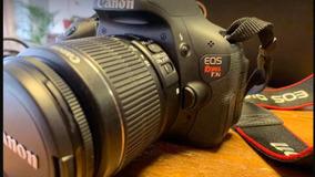 Canon T3i + Lente 18-55mm Ef-s E Bolsa De Brinde