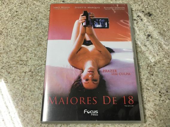 Dvd Maiores De 18 Prazer Sem Culpa - Filme Original