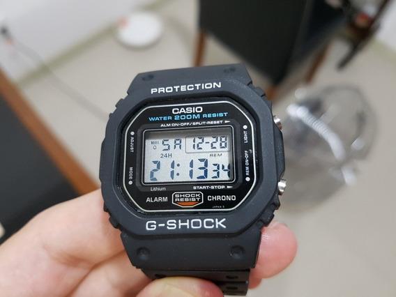 Relógio Casio G Shock 5600 Fundo Rosqueado Relíquia Perfeito
