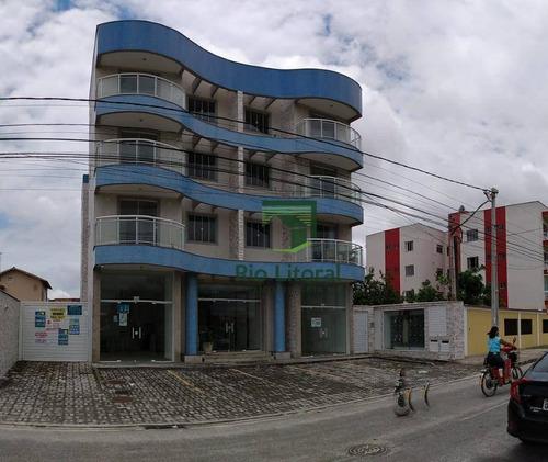 Apartamento Com 2 Dormitórios À Venda, 65 M² Por R$ 260.000,00 - Atlântica - Rio Das Ostras/rj - Ap0458