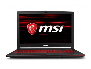 Msi Notebook Gl63 8rc I5-8300h 8gb Ssd128gb, Gtx1050 15.6