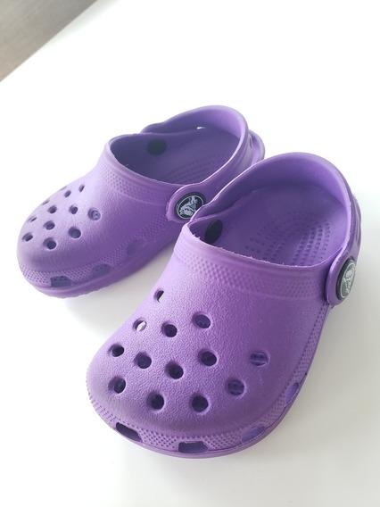 Crocs Niño Usadas Talle C 4 5