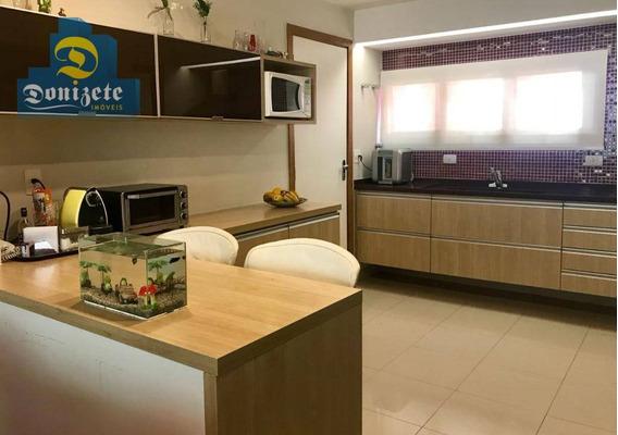 Apartamento Com 3 Dormitórios À Venda, 110 M² Por R$ 880.000,00 - Jardim - Santo André/sp - Ap7145