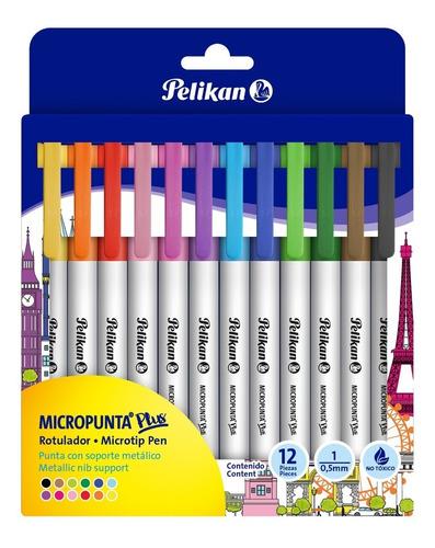 Micropunta Plus Pelikan X 12 Uds