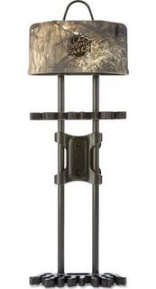 Quiver Carcaj (porta Flechas) De Arco P/ Cacería Marca Trophy Taker 5 Flechas